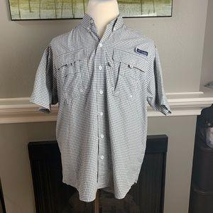 Columbia PFG Striped Fishing Shirt